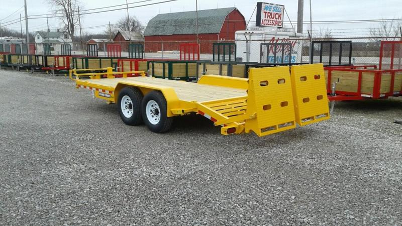 2017 Sure-Trac 15' + 3' Universal Ramp Equipment Trailer