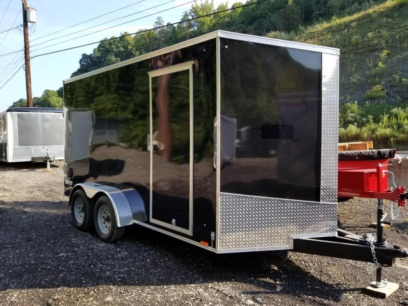 2017 Pace American Journey Se Cargo Flat Top Cargo / Enclosed Trailer