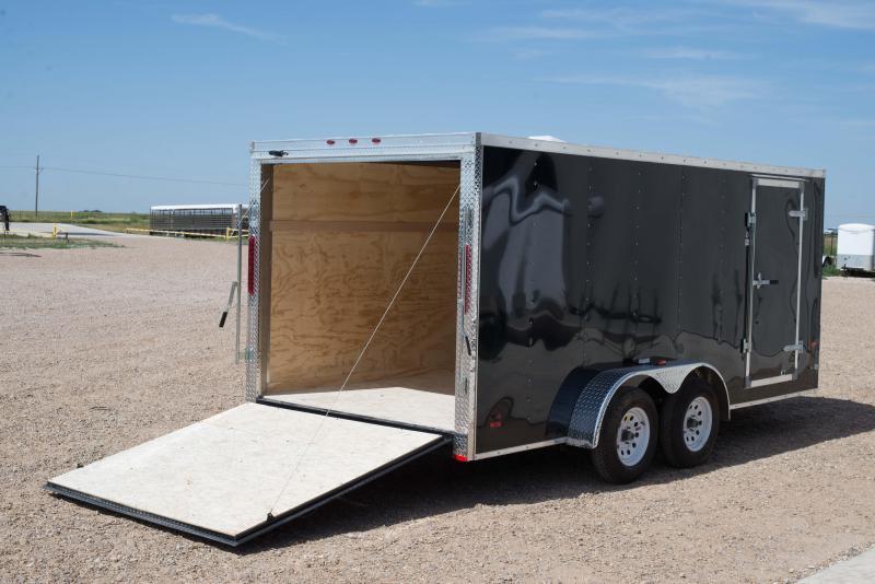 2017 Rc Trailers Rwt7x16ta2ftw Enclosed Cargo Trailer
