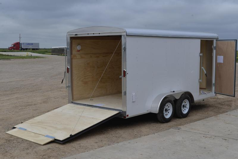 2017 Carry On 7 X16 Tandem Axle Enclosed Trailer Happy