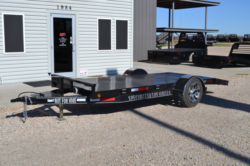 USED 2016 Pull Rite 5'x14' Motorcycle Trailer