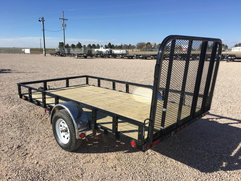 Utility trailer frame
