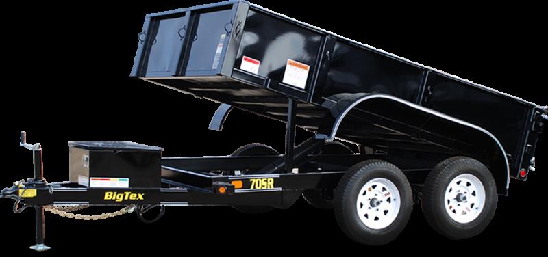 2018 Big Tex Trailers 70SR-10-5WDD Dump Trailer