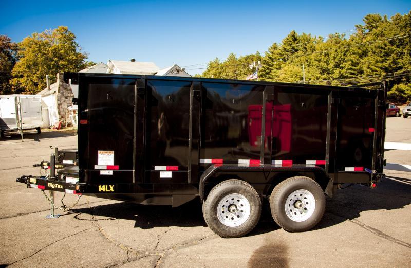 2016 Big Tex Trailers 14LX-14BK-P4 DumpTrailer