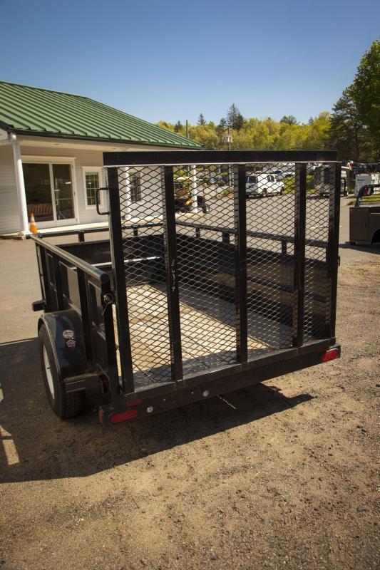 2013 Big Tex Trailers 30SV-08Bk Solid Side Utility Trailer
