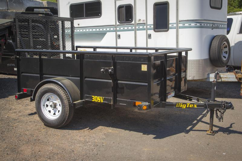 2013 Big Tex Trailers 30SV-08Bk Solid Side Utility Trailer