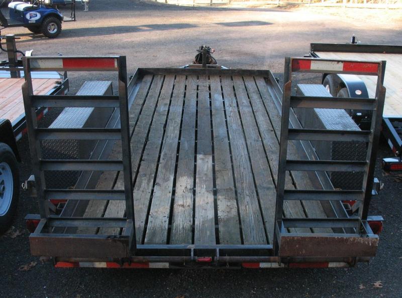 2000 US Cargo USCHD6516TA4 Equipment Trailer