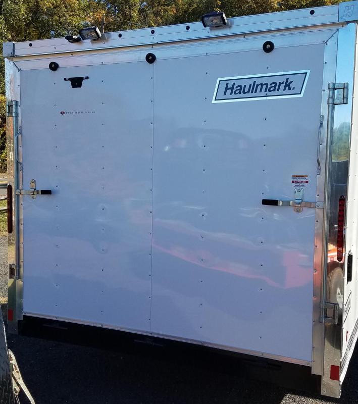 2018 Haulmark Flat Top V-Track Snowmobile Trailer