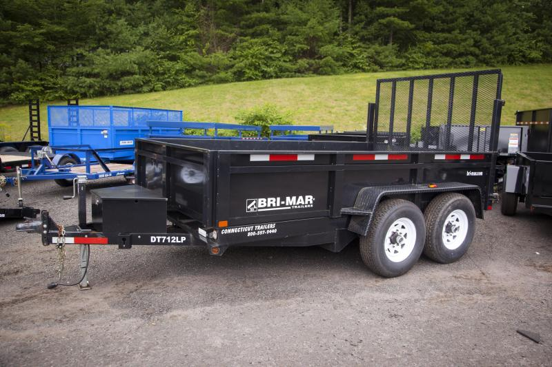 2013 Bri-Mar DT712LP Dump Trailer