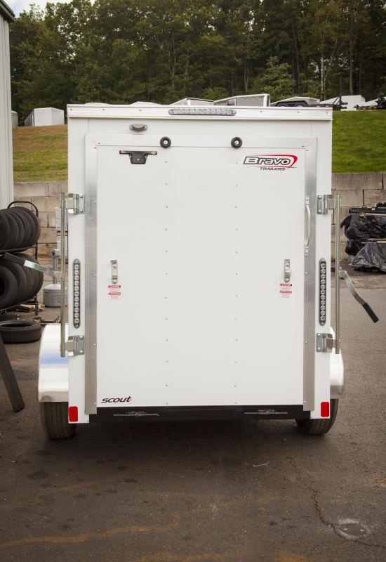 2017 Bravo Trailers SC58SA Enclosed Cargo Trailer