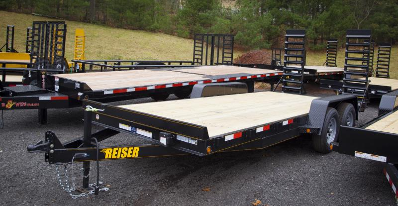 2018 Other Reiser ET1810K Equipment Trailer