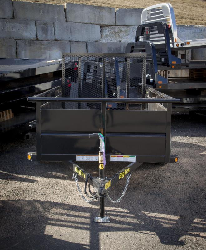 2017 Big Tex Trailers 30SV-08 Utility Trailer
