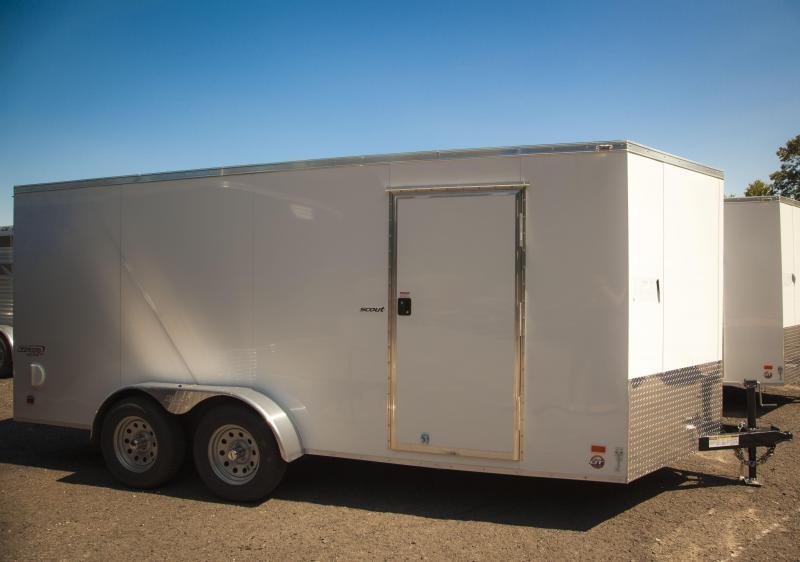 2017 Bravo SC716TA2 Enclosed Cargo Trailer