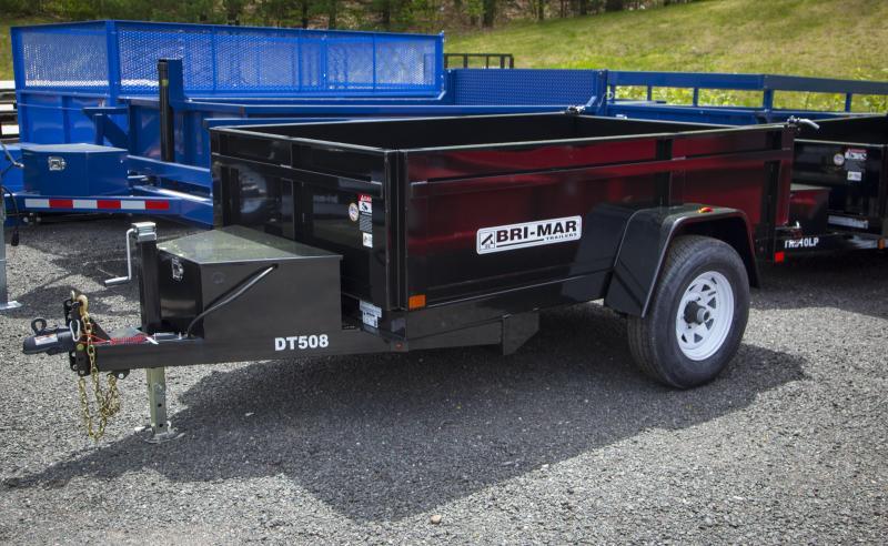 2017 Bri-Mar DT508LP-5 Dump Trailer