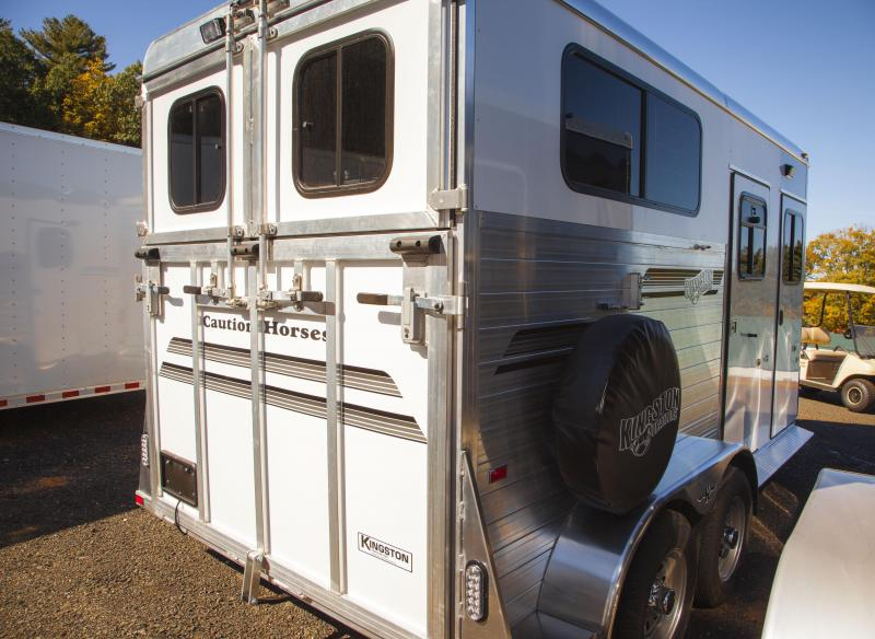 2017 Kingston Trailers Inc. Warm Blood Classic Elite 2-Horse