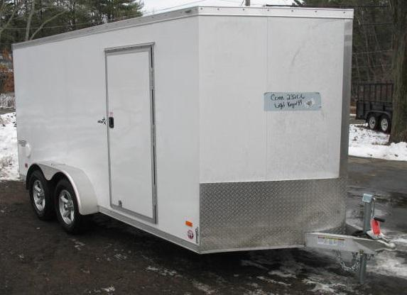 2018 Bravo Trailers AST714TA2 Enclosed Cargo Trailer