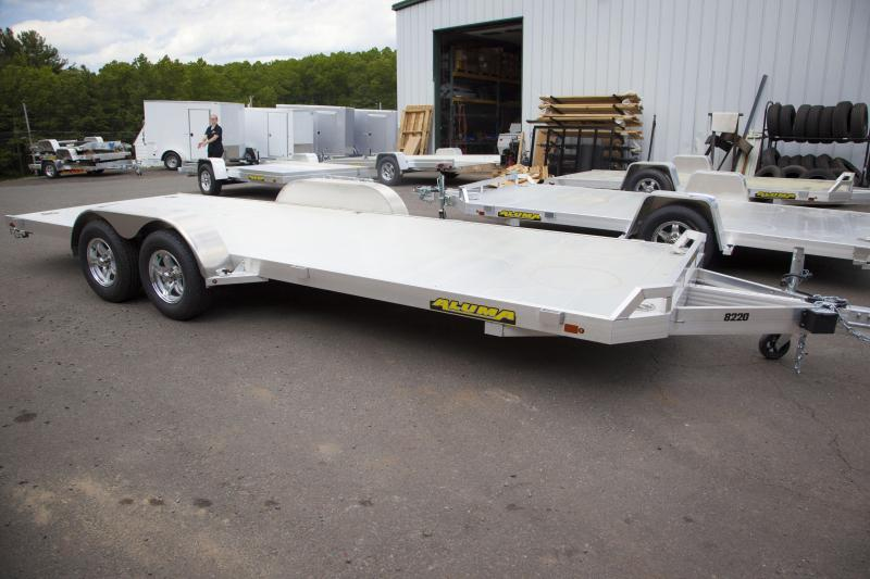 2018 Aluma 8220 Car / Racing Trailer