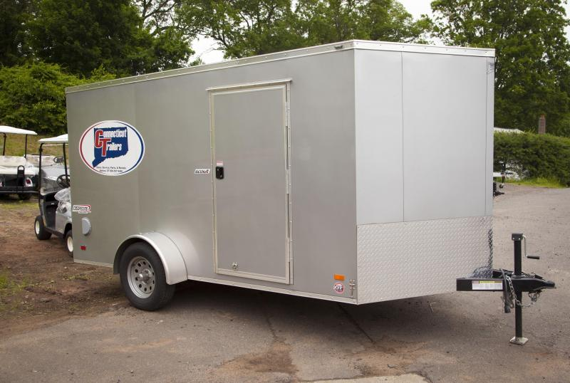 2018 Bravo Trailers SC712SA Enclosed Cargo Trailer