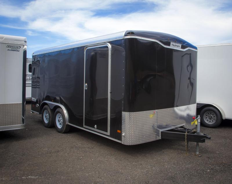 2017 Haulmark enclosed Construction Trailer