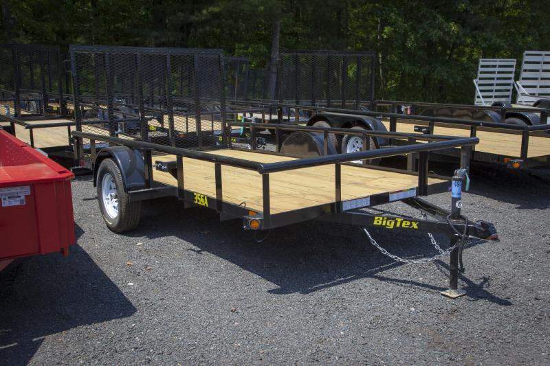 2018 Big Tex Trailers 35SA-12BK Utility Trailer