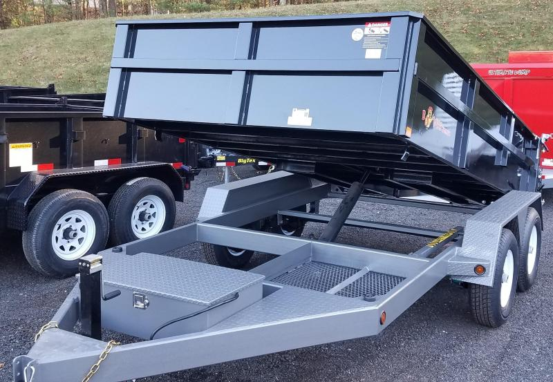 2018 B-Wise DLP12W-10 Dump Trailer