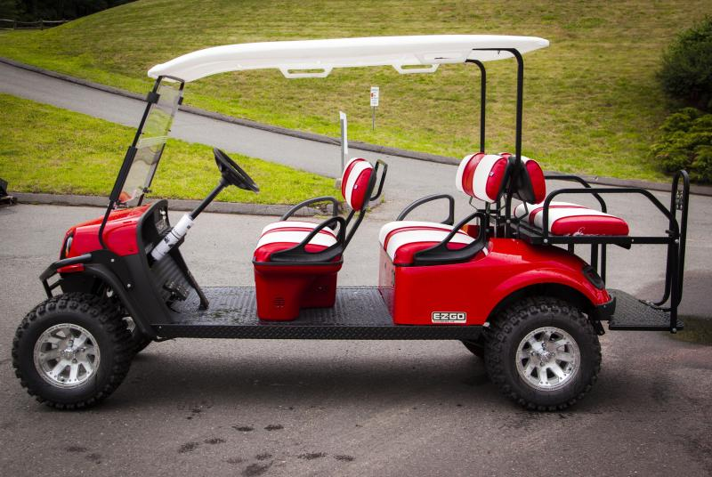 2017 EZ-GO Express L6G Golf Cart