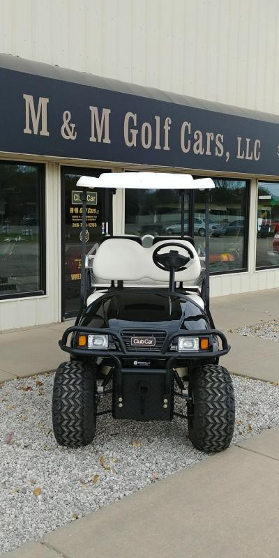 2012 Club Car Lifted Black phantom Refurbished Golf Car