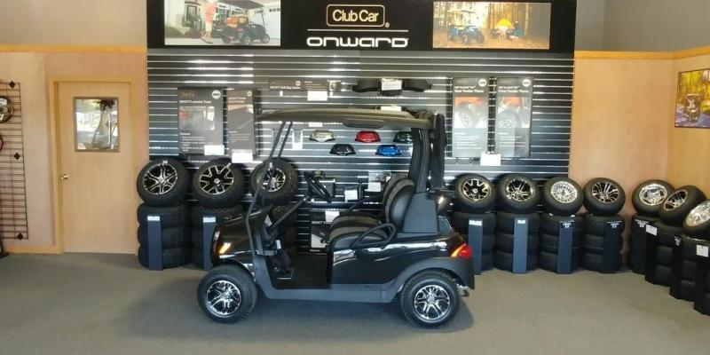 2018 Club Car Onward 2 Passenger Electric Golf Car