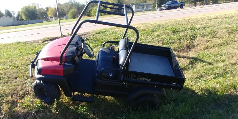 2009 Club Car XRT1550 4WD GAS Utility Side-by-Side (UTV)