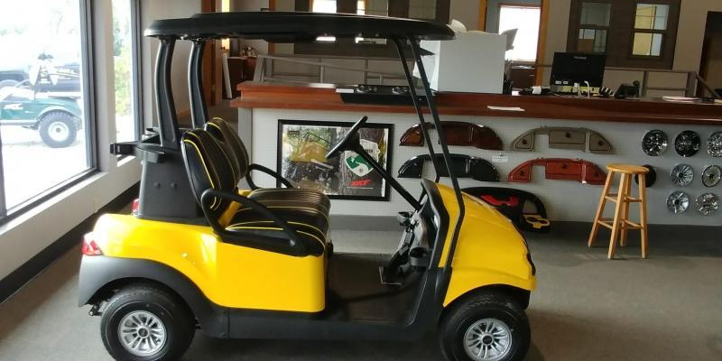 2017 Club Car Precedent Electric Phantom Golf Car