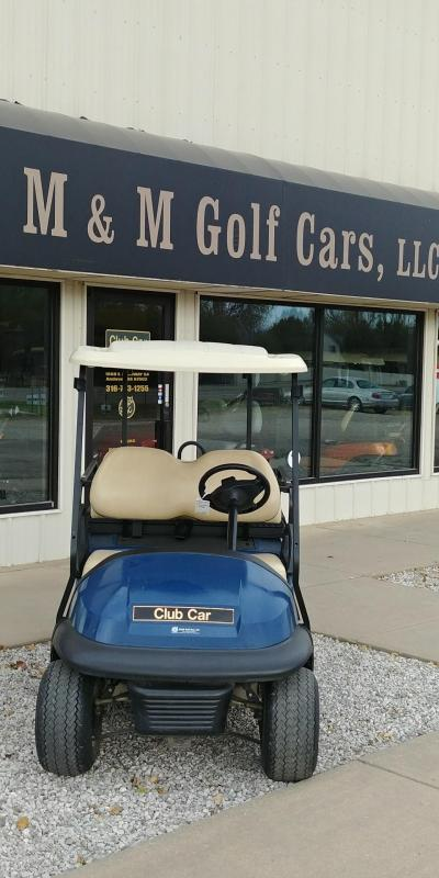 2012 Club Car Precedent 4 Passenger Electric Golf Car
