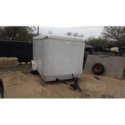 Rental 12 - Pace American 6 x 10 Enclosed Cargo Trailer