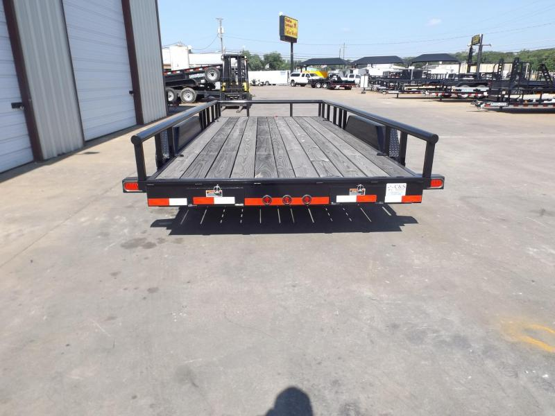 2017 Load Trail CS8318052ESAF06P09CB2 Equipment Trailer