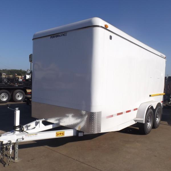 Rental 51 - Parker 7 x 16 Enclosed Cargo Trailer