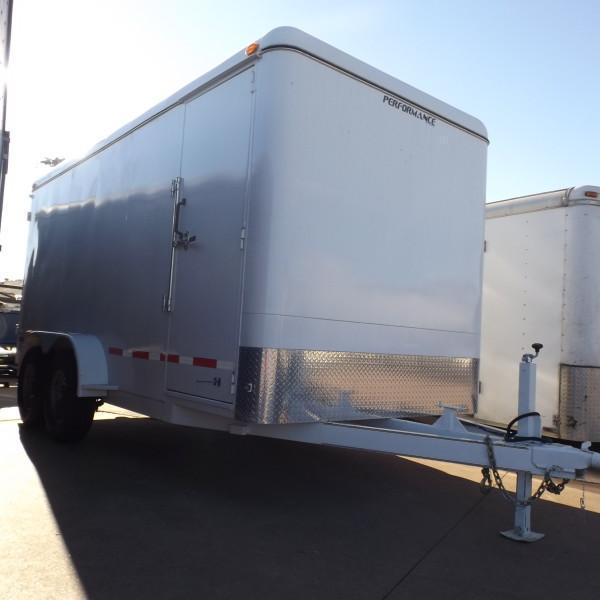 Rental 60 - Parker 7 x 16 Enclosed Cargo Trailer