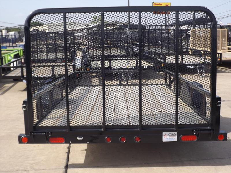 2017 Load Trail SE7712031IS0F05G04P04TM1CB2 Utility Trailer