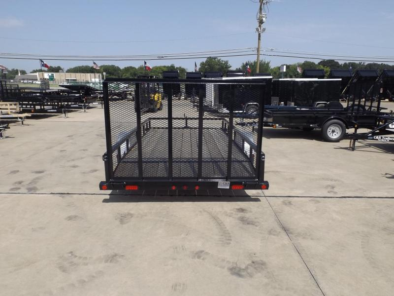 2017 Load Trail SE7714031IS0D01G09ZP2CB2 Utility Trailer