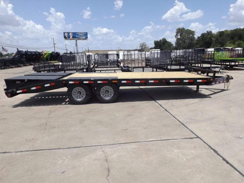 2017 Load Trail PS0222072ESBA06D08ZP2CB2 Flatbed Trailer