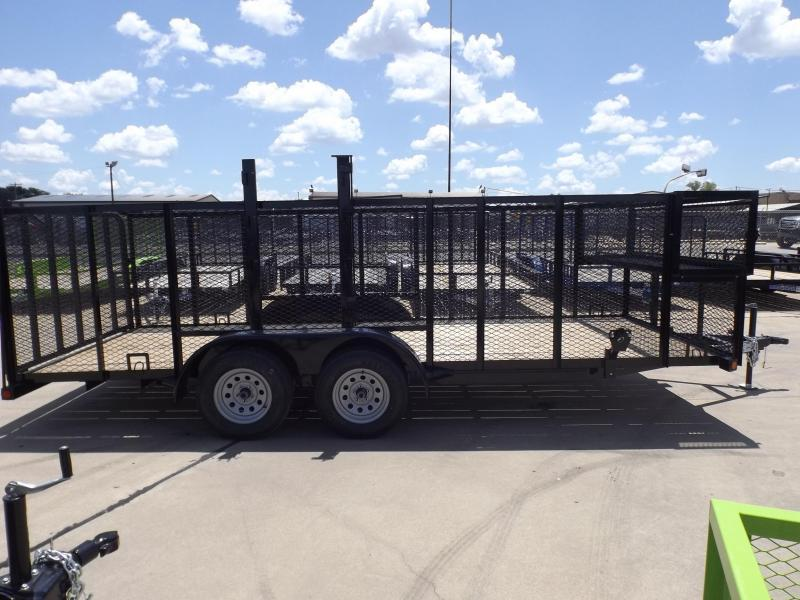 2017 Load Trail UE8316032ESAG04P02Q04TC1WE1TM1ZP2CB2 Utility Trailer