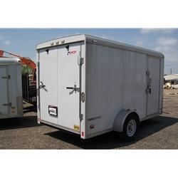 Rental 45 - Pace American CS612 Enclosed Cargo Trailer