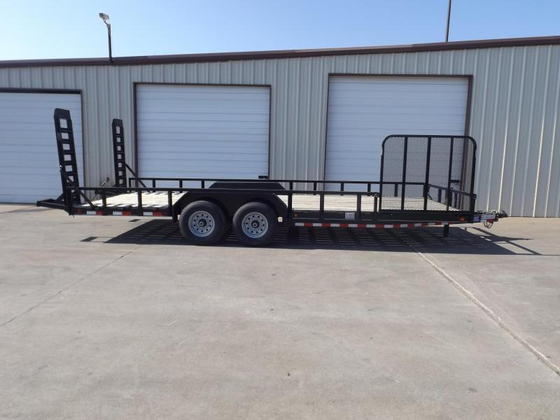2017 Load Trail CS0222072B00ETBH03GS1P04ZP2CB2 Equipment Trailer
