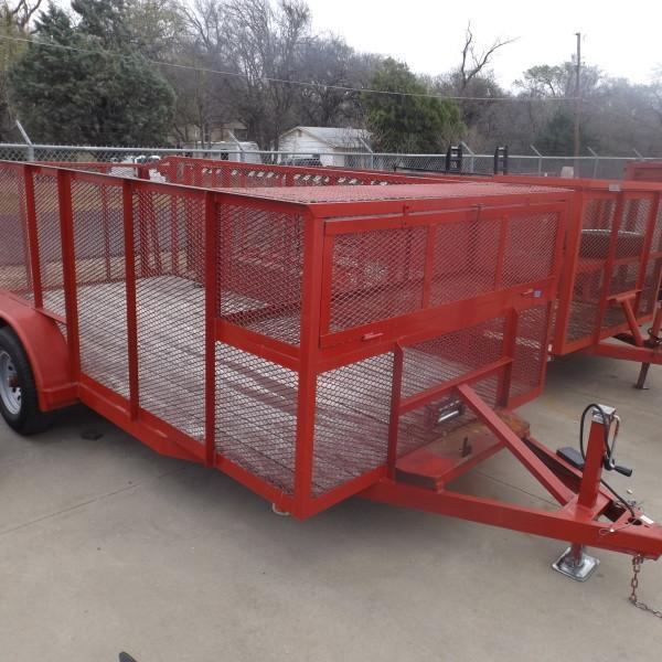 "Rental 65 - Load Trail 83"" x 16' Utility Trailer"