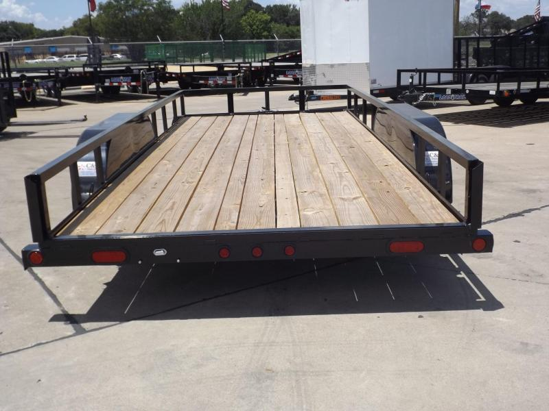 2017 Load Trail UE7716032ESAH12CB2 Utility Trailer