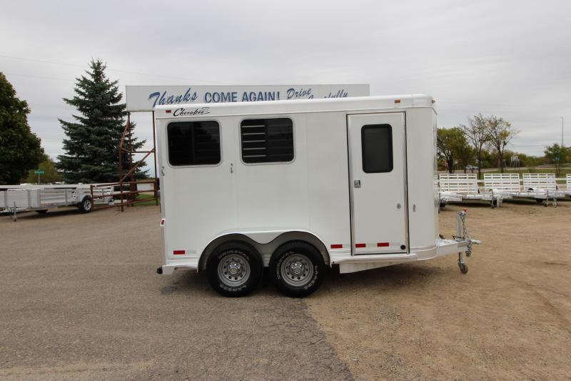 2010 Cherokee Trailers Arrow 2HR BP Horse Trailer