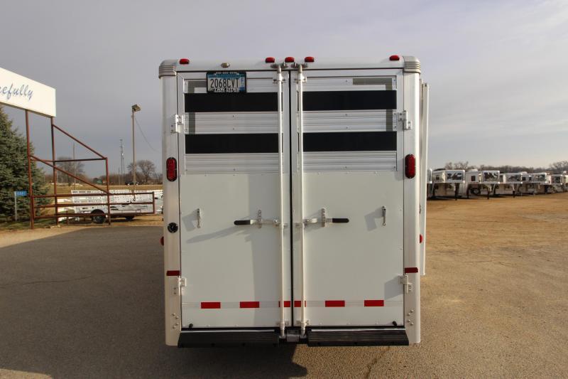 2006 Sundowner Trailers 4HR Stock Combo Horse Trailer