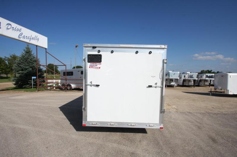 2017 American Hauler Industries NightHawk 7x14 Aluminum Enclosed Cargo Trailer