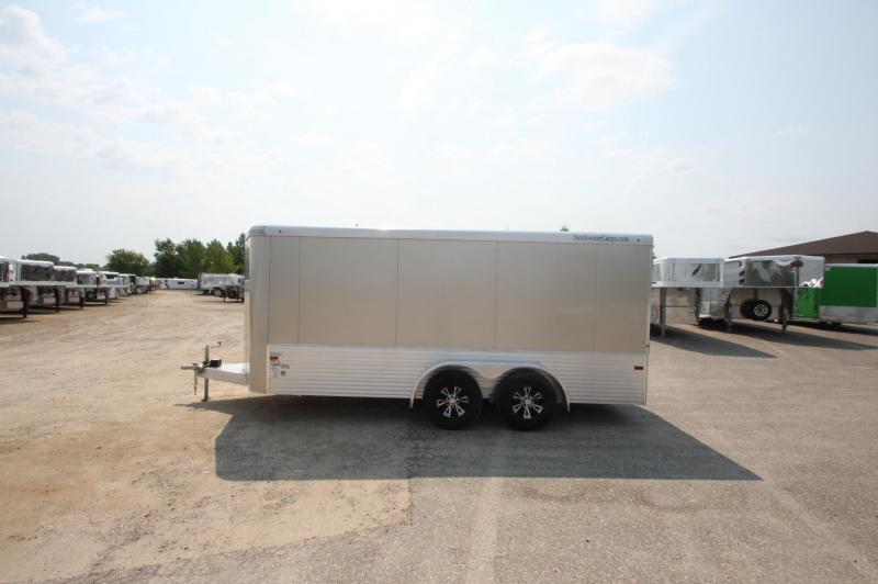 2017 Sundowner Trailers 16 BP Enclosed Cargo Trailer