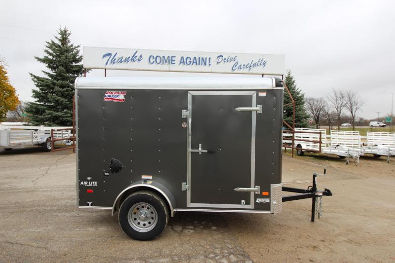 2018 American Hauler Industries Air Lite 6 X 10 Utility Trailer