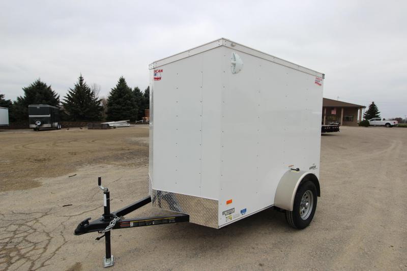 2018 American Hauler Industries Arrow 5 x 8 Enclosed Cargo Trailer