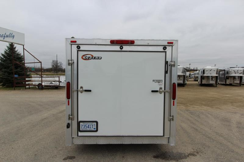2006 Legend Manufacturing 7 X 27 Enclosed Snowmobile Trailer